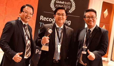 Global Health Award Bangkok Dental
