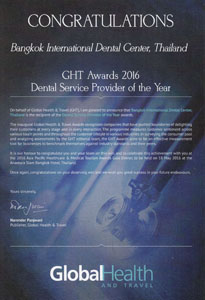 GHT Awards Global Health Certificate