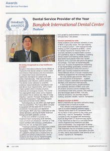 GHT Awards Global Health Travel Magazine