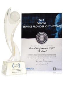 trophy Global Health Travel Awards
