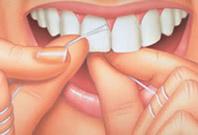 proper flossing dental technique